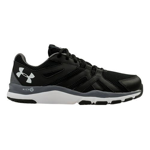 Mens Under Armour Strive 6 Cross Training Shoe - Black/Graphite 9