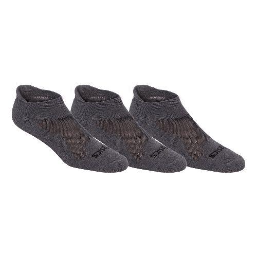 ASICS Cushion Low Cut 9 Pack Socks - Grey Heather M