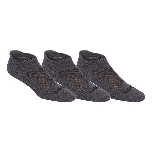ASICS Cushion Low Cut 9 Pack Socks - Grey Heather S