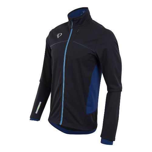 Mens Pearl Izumi Pursuit Softshell Jackets - Black/Yellow XL