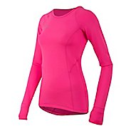 Womens Pearl Izumi Pursuit Thermal Long Sleeve Technical Tops