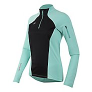 Womens Pearl Izumi Pursuit Wind Thermal Half-Zips & Hoodies Technical Tops