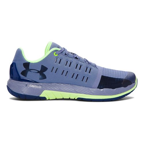 Womens Under Armour Charged Core Cross Training Shoe - Aurora Purple/X-Ray 9