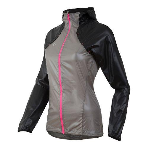 Pursuit Barrier Lt Hoody Running Jackets - Black/Monument Grey M