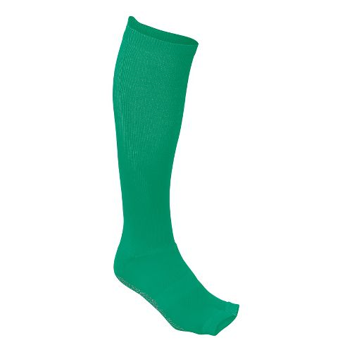 Womens ASICS Studio No-Slip Compression Knee High 3 Pack Socks - Cool Mint S