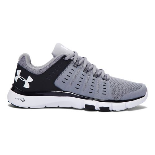 Womens Under Armour Micro G Limitless TR 2 TM Cross Training Shoe - Steel/Black 6.5 ...