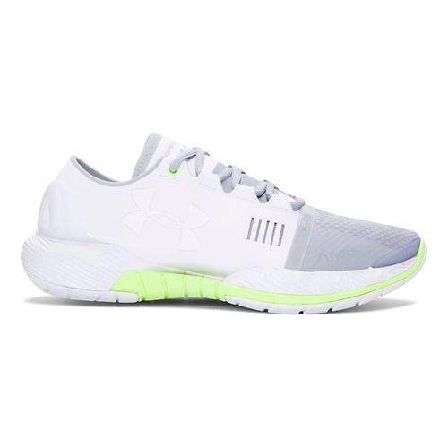 Womens Under Armour Speedform Amp Cross Training Shoe - White/Overcast Grey 9.5