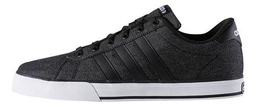 Mens adidas SE Daily Vulc Casual Shoe - Black/White 12.5