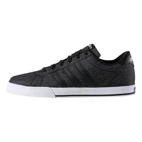 Mens adidas SE Daily Vulc Casual Shoe - Black/White 7.5