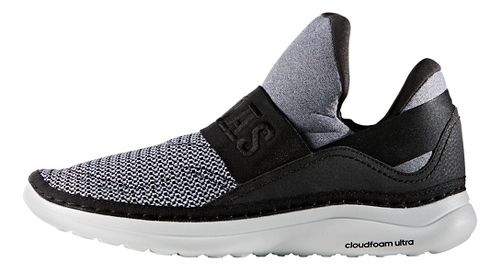 Mens adidas Cloudfoam Ultra Zen Casual Shoe - White/Black/Scarlet 10