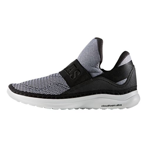 Mens adidas Cloudfoam Ultra Zen Casual Shoe - White/Black/Scarlet 12