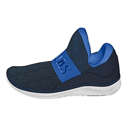 Mens adidas Cloudfoam Ultra Zen Casual Shoe - Blue/Navy/White 8