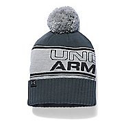 Mens Under Armour Pom Beanie Headwear