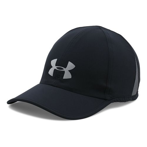 Mens Under Armour Shadow Cap 3.0 Headwear - Black/Black