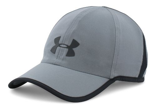 Mens Under Armour Shadow Cap 3.0 Headwear - Steel/Black