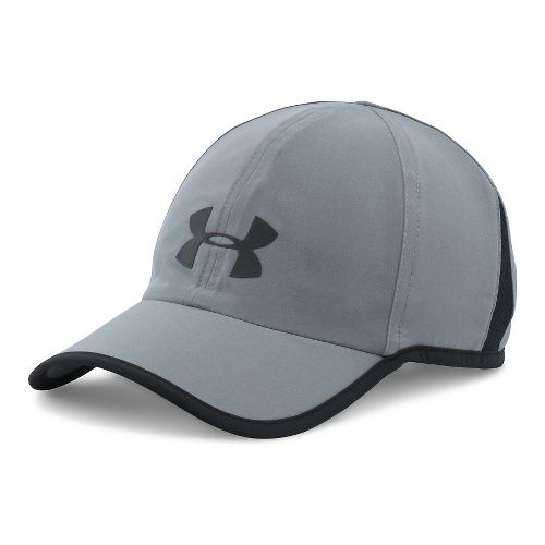 Mens Under Armour Shadow Cap 3.0 Headwear - Steel/Black