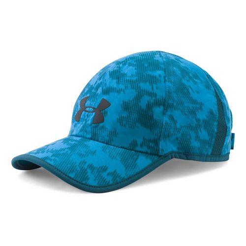 Mens Under Armour Shadow Cap 3.0 Headwear - Peacock/Teal