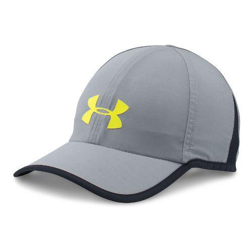 Mens Under Armour Shadow Cap 3.0 Headwear - Grey/Black