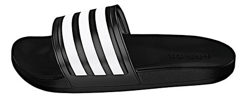 Womens adidas Adilette CF Ultra Stripes Sandals Shoe - Black/White 7
