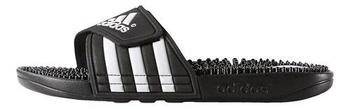 Womens adidas Adissage Sandals Shoe - Black/White 11