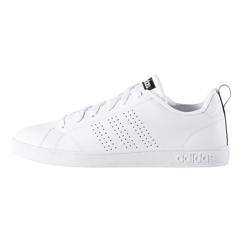 Womens adidas Advantage Clean VS Casual Shoe - White/Black 8.5
