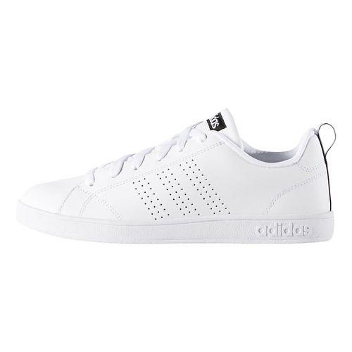 Womens adidas Advantage Clean VS Casual Shoe - White/Black 9.5
