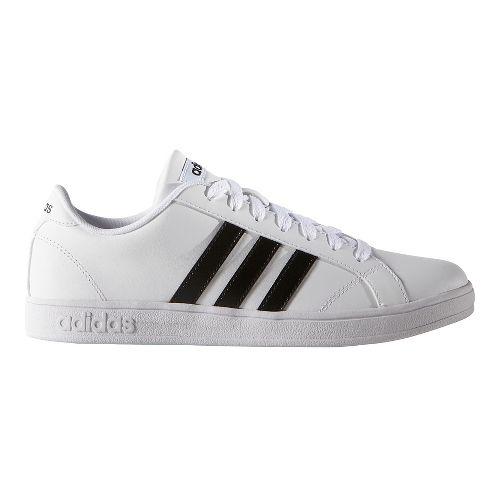 Womens adidas Baseline Casual Shoe - Black/White 8