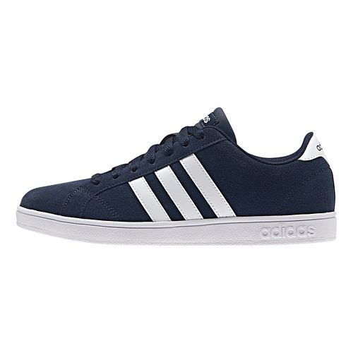 Womens adidas Baseline Casual Shoe - Navy/White 7