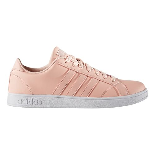 Womens adidas Baseline Casual Shoe - Pink/White 8