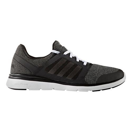 Womens adidas Cloudfoam Expression Casual Shoe - Black/White 5.5