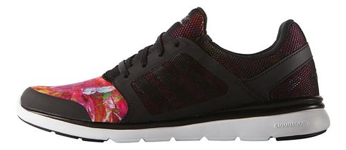 Womens adidas Cloudfoam Expression Casual Shoe - Black/Multi 6