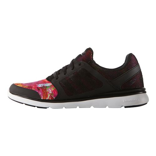Womens adidas Cloudfoam Expression Casual Shoe - Black/Multi 6