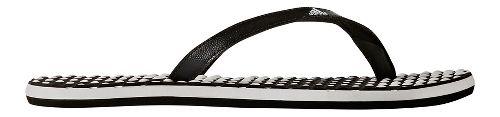 Womens adidas Eezay Dots Sandals Shoe - White/Black 5