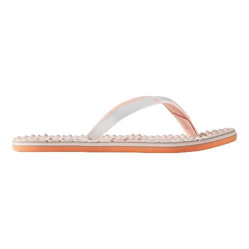 Womens adidas Eezay Dots Sandals Shoe - Green/Navy 7