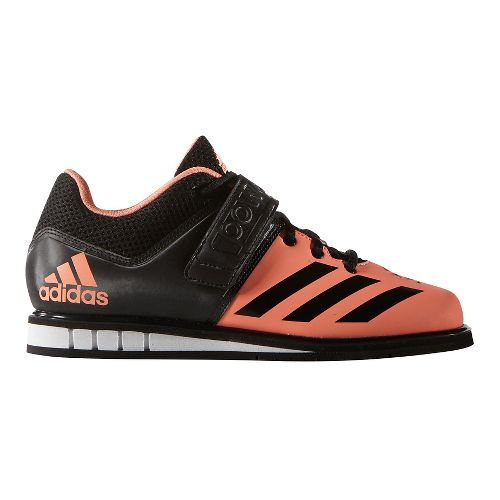 Womens adidas Powerlift 3 Cross Training Shoe - Glow/Black/White 10