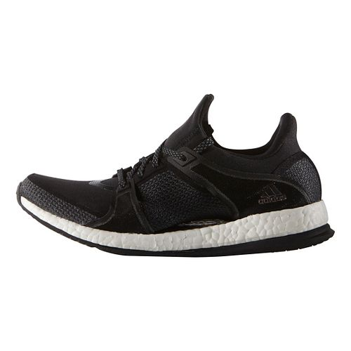 Womens adidas Pure Boost X TR Cross Training Shoe - Black/White 7.5