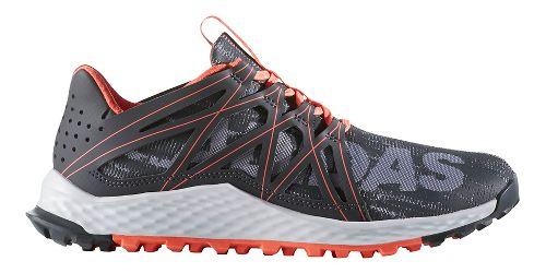 Womens adidas Vigor Bounce Trail Running Shoe - Grey/Dark Grey 9