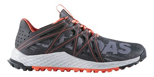Womens adidas Vigor Bounce Trail Running Shoe - Grey/Dark Grey 9.5