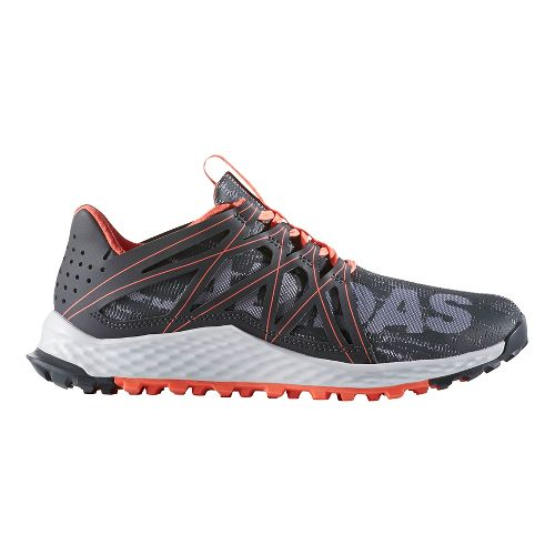 Womens adidas Vigor Bounce Trail Running Shoe - Grey/Dark Grey 7.5