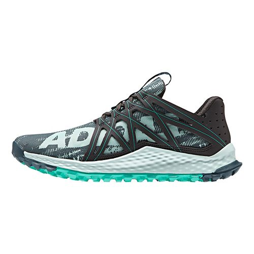 Womens adidas Vigor Bounce Running Shoe - Green/Mint/Black 8.5