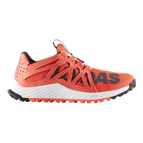 Womens adidas Vigor Bounce Trail Running Shoe - Dark Grey/Orange 7