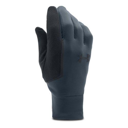 Mens Under Armour No Breaks Armour Liner Handwear - Stealth Grey M