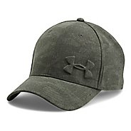 Mens Under Armour Tonal Chambray Low Crown Cap Headwear