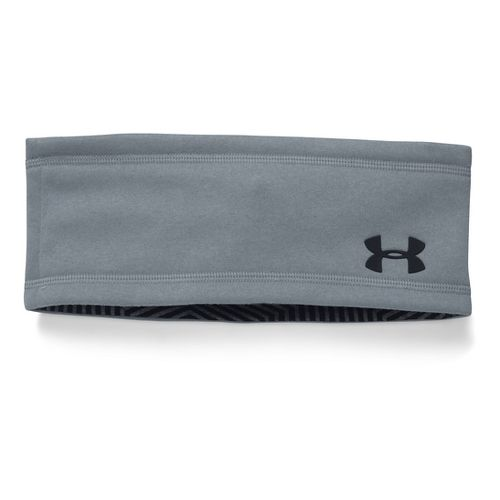 Mens Under Armour Elements Band Headwear - Steel