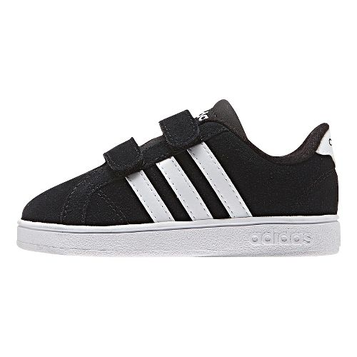 adidas Baseline Casual Shoe - Black/White 6C