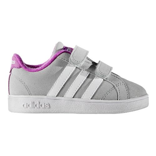 adidas Baseline Casual Shoe - Clear Onyx/White 5.5C