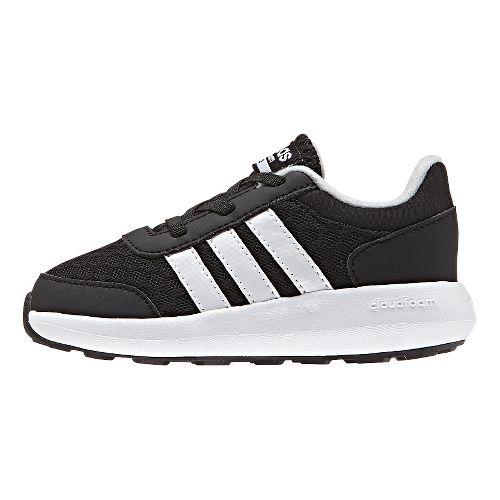 Kids adidas Cloudfoam Race Casual Shoe - Black/White 6C