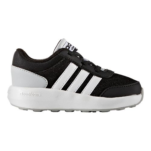 adidas Cloudfoam Race Casual Shoe - Black/White/Grey 7C