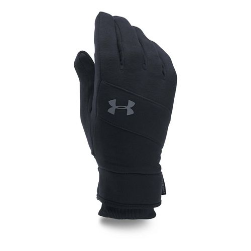 Mens Under Armour Elements Glove Handwear - Black/Black S