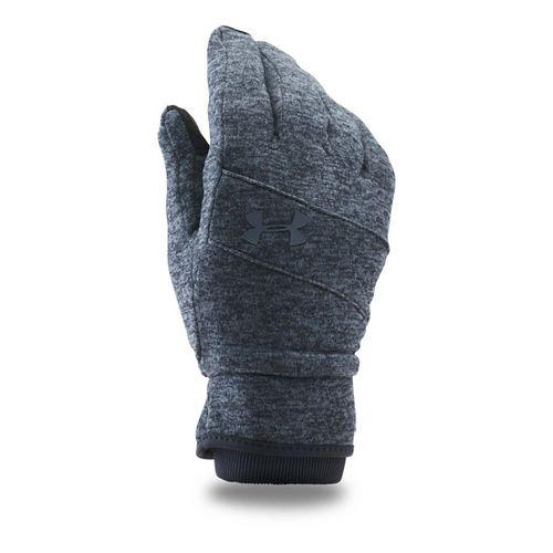 Mens Under Armour Elements Glove Handwear - Black/Stealth Grey S